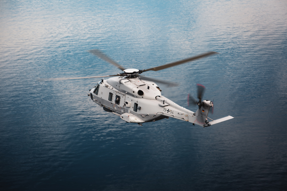 Germany takes delivery of its first NH90 Sea Lion