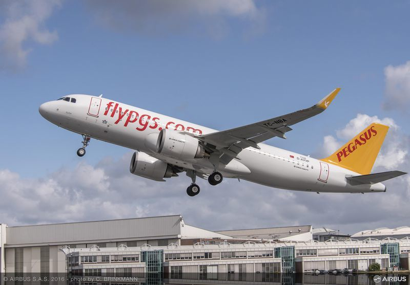 First CFM-powered A320neo goes to Turkey's Pegasus Airlines