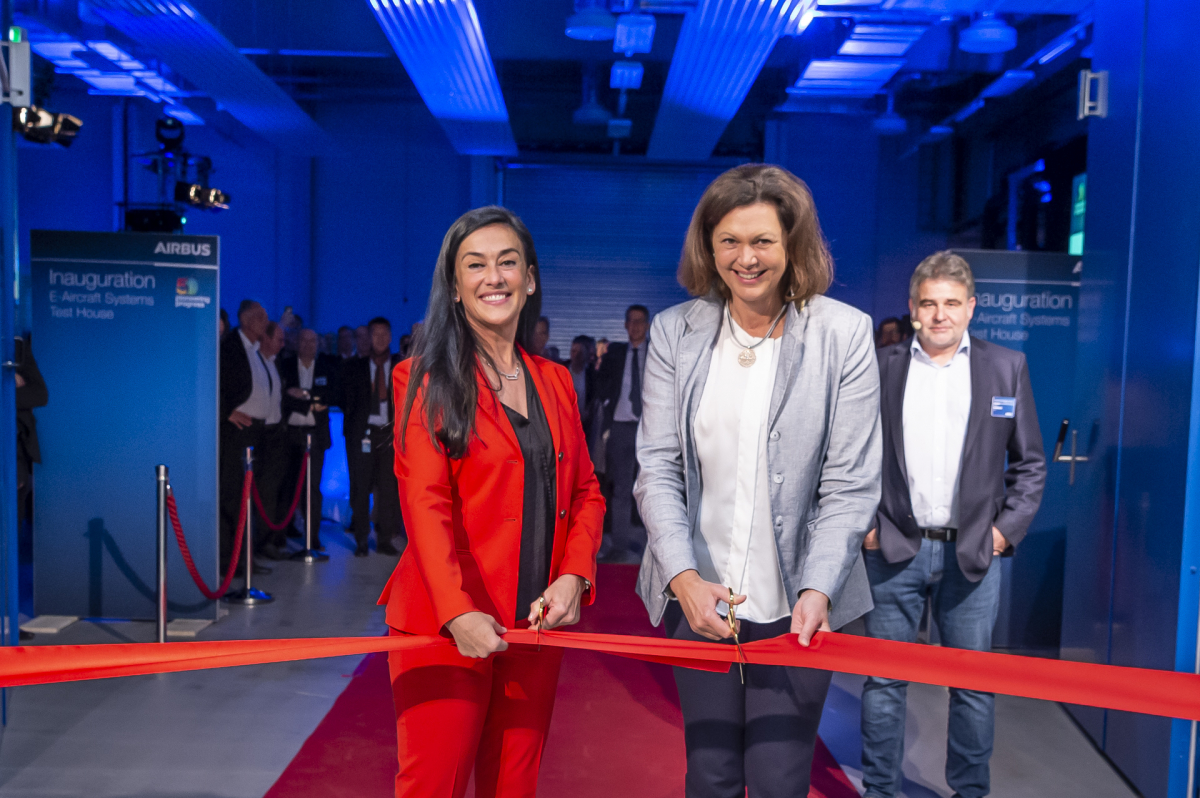 Airbus inaugurates its test center for hybrid and electric propulsion