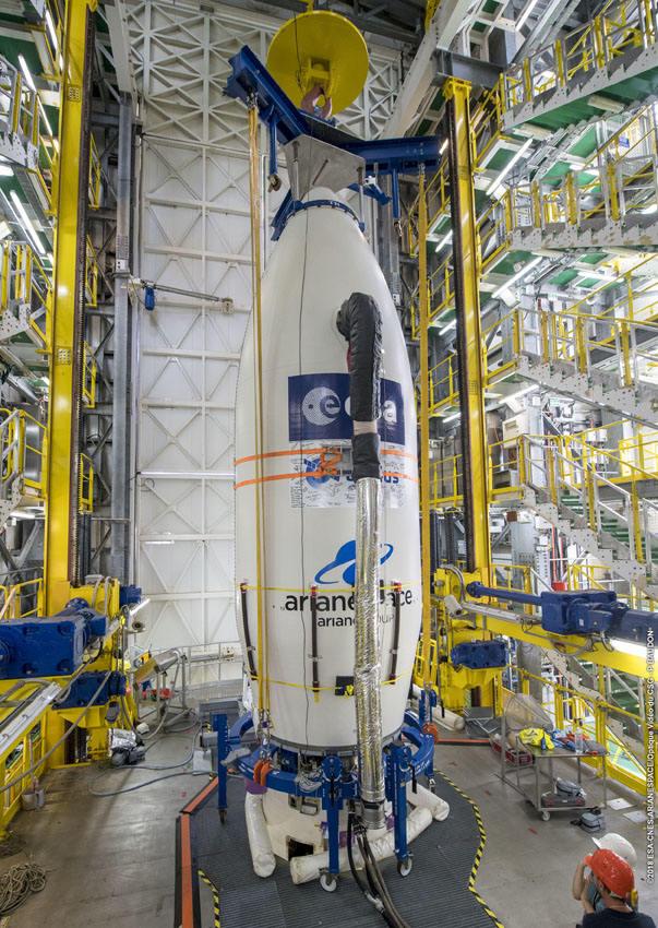 Aeolus satellite set for liftoff