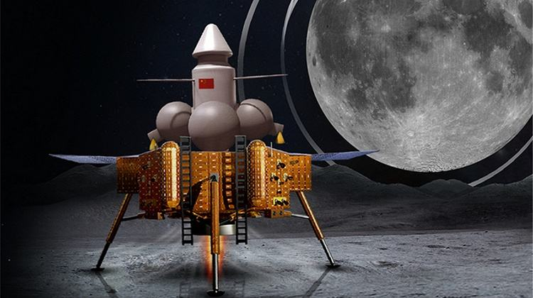 France, China to cooperate on Moon mission