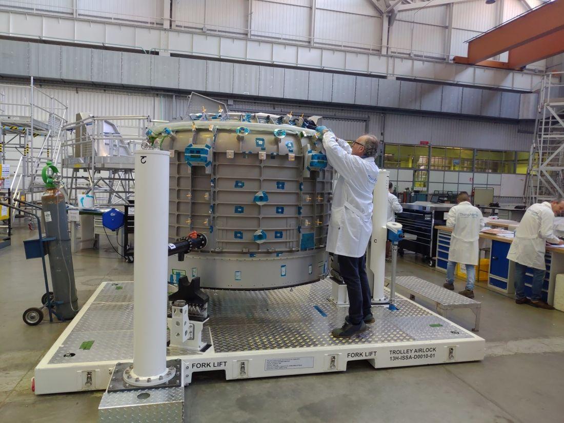 Thales Alenia Space announces ISS airlock milestone