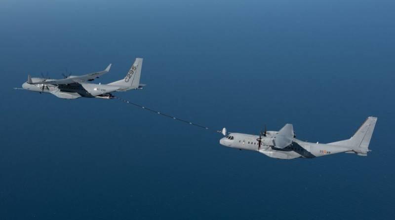 Airbus DS tests C295W in tanker role