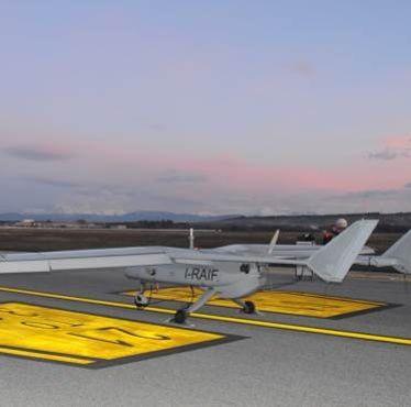 Leonardo tests upgraded Falco EVO drone