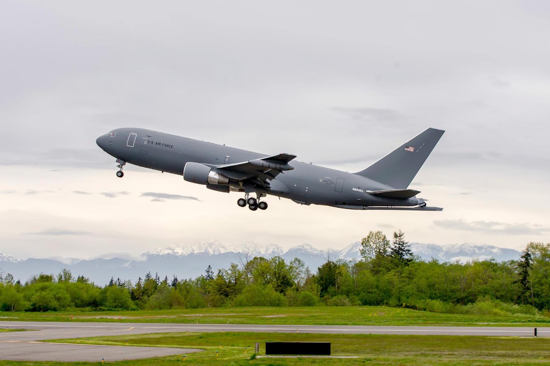 Sixth aircraft joins KC-46 tanker flight test programme
