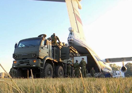Russian deployment in Serbia