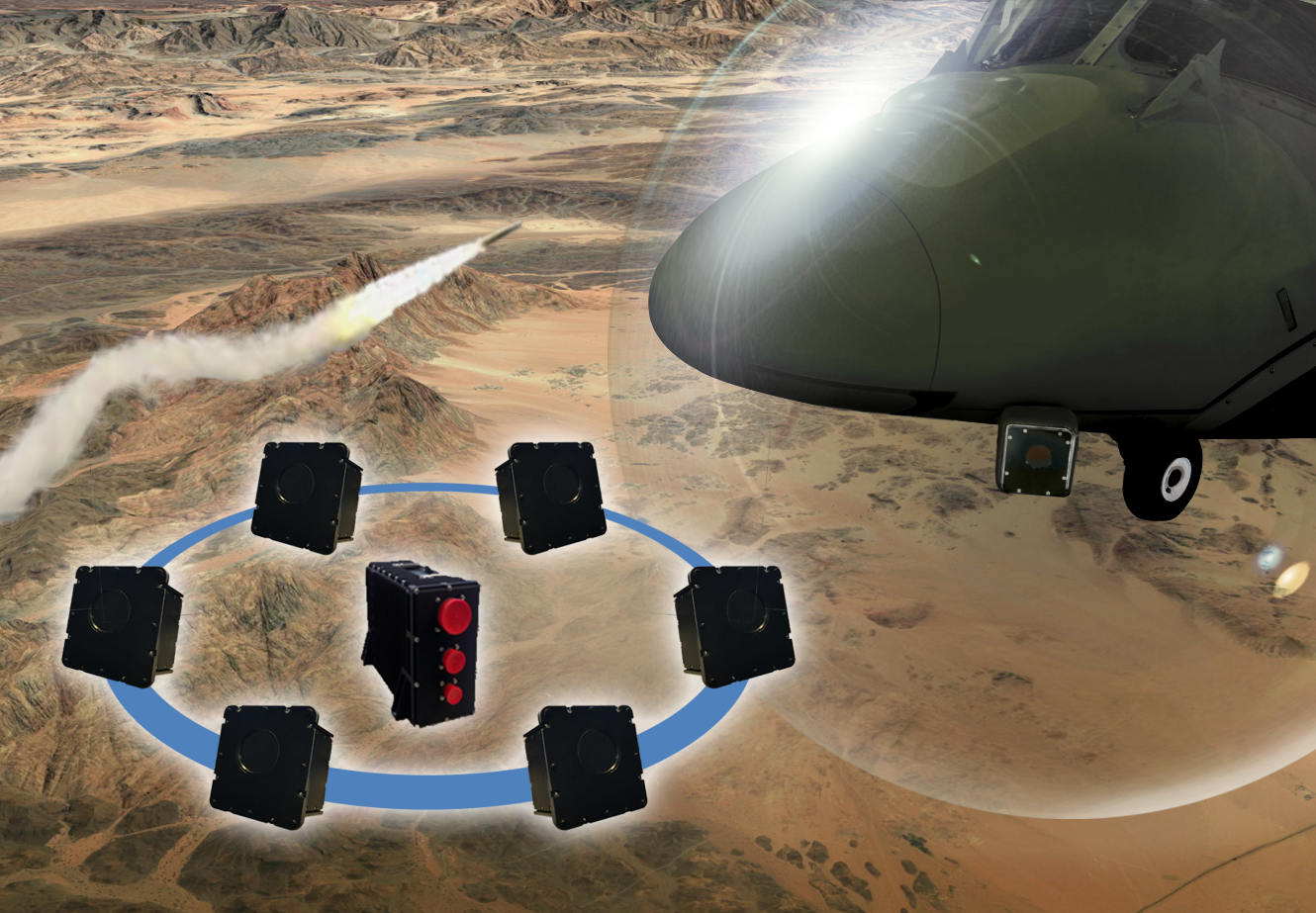 Paris Air Show 2019: Leonardo will exhibit its brand-new Multiple Aperture Infra-Red (MAIR) missile warning system.