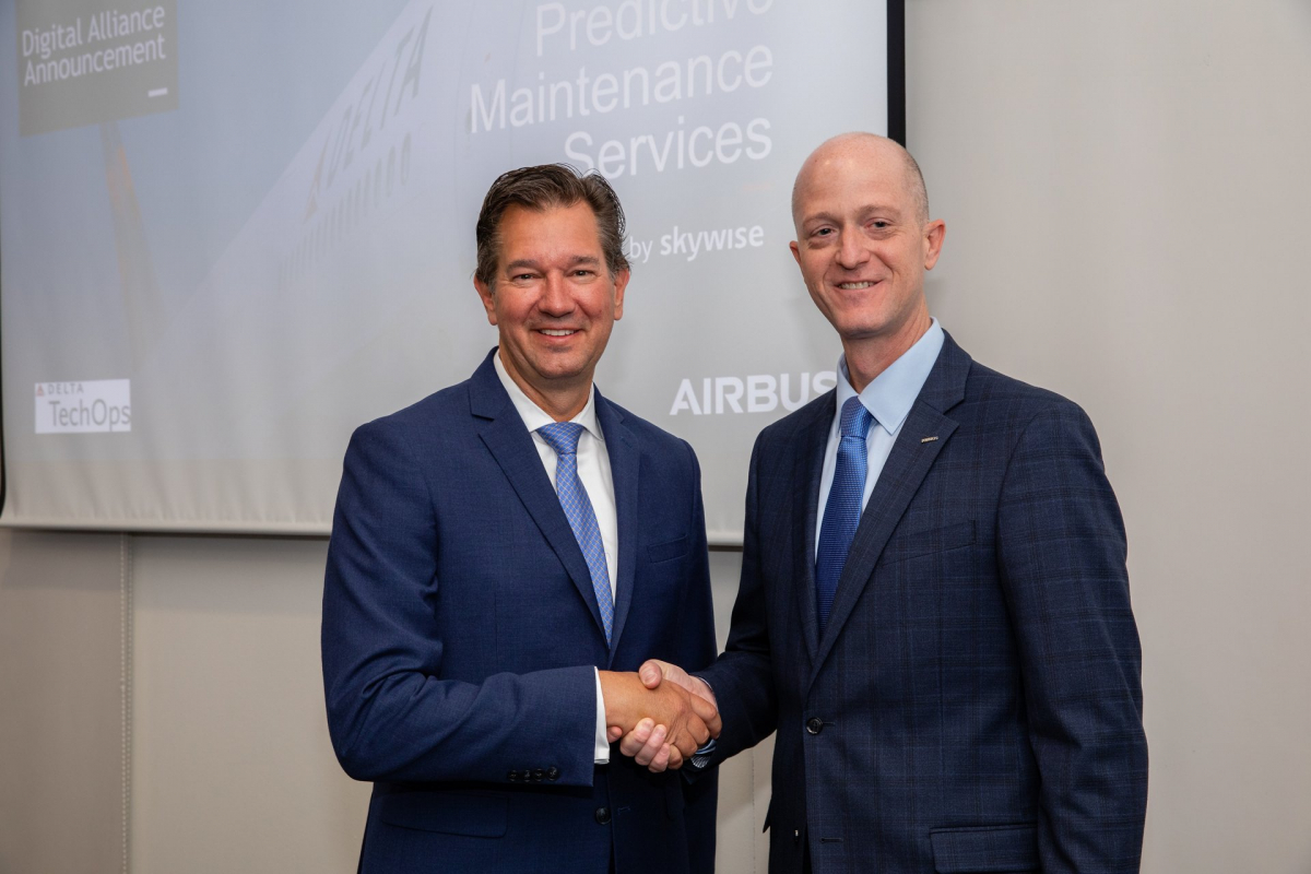 MRO Europe 2019: Delta and Airbus finalize a digital alliance