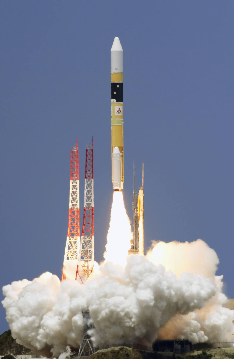 Japan launches military satellite