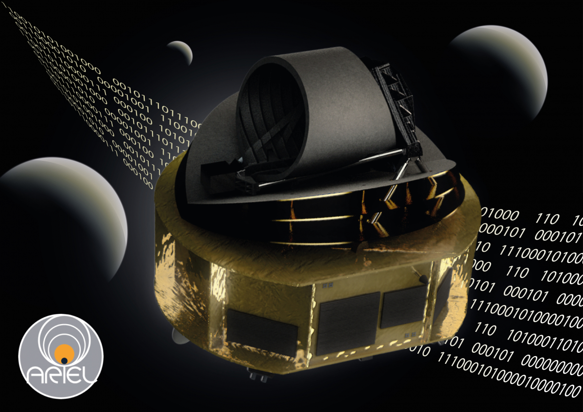 Lauching the first work on the European space telescope Ariel