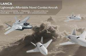 The United Kingdom is considering a new combat drone concept
