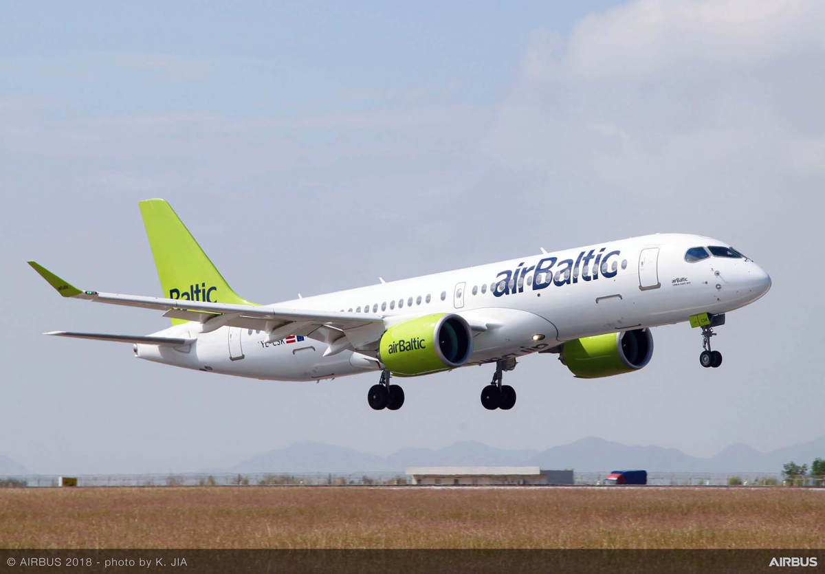 New tour in Asia for the Airbus A220