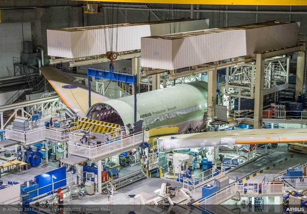 A330-800 starts final assembly