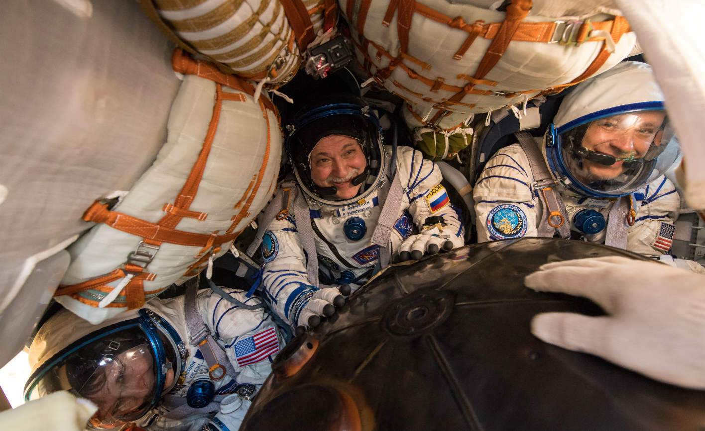 ESA retrieves NASA astronauts in wake of hurricane Harvey