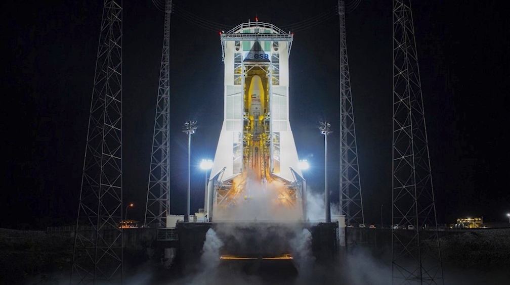 UAE launches to orbit its first spy satellite