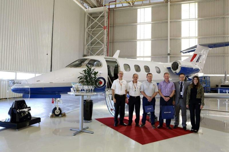 Embraer delivers first Phenom 100 for UK military training programme