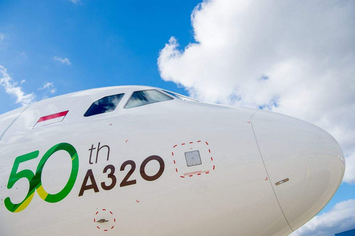 Indonesia's Citilink gets 50th A320