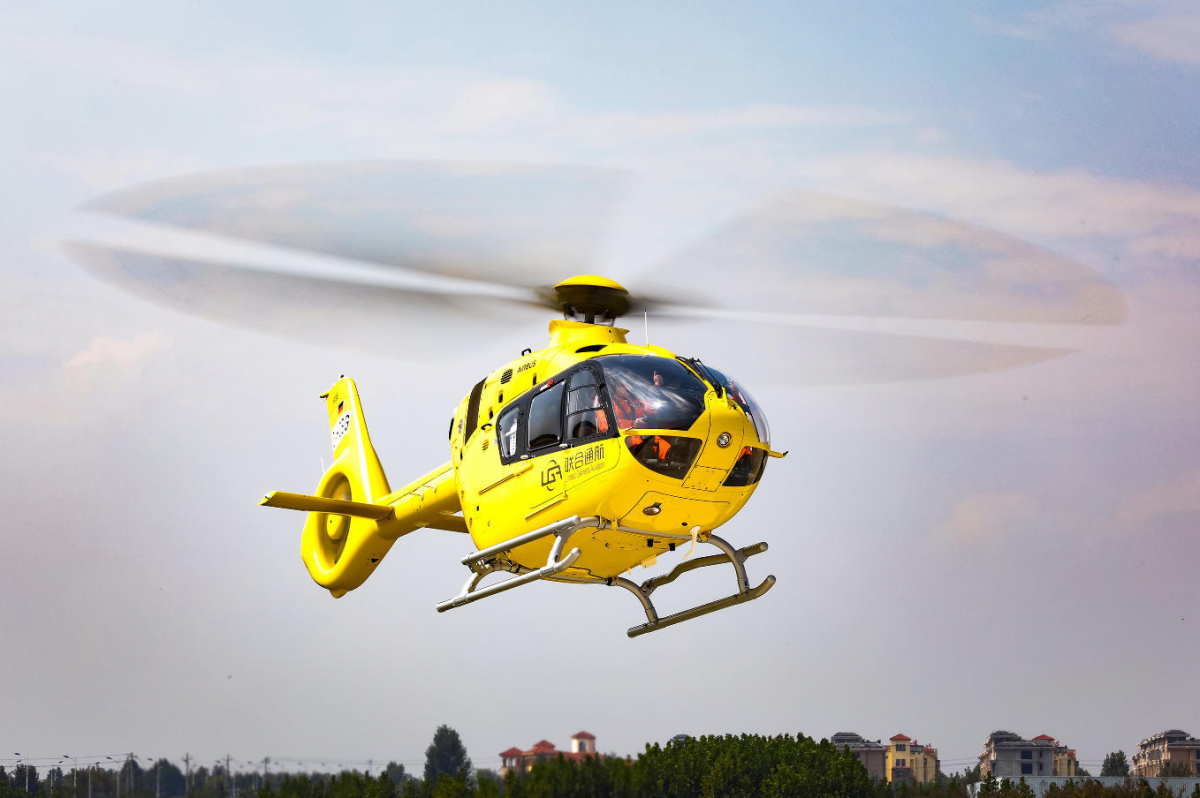 Airbus Helicopters begins to deliver its Chinese H135