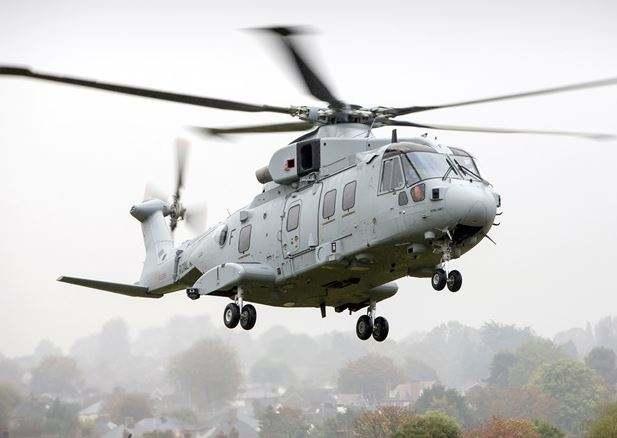 Leonardo delivers first Merlin Mk4