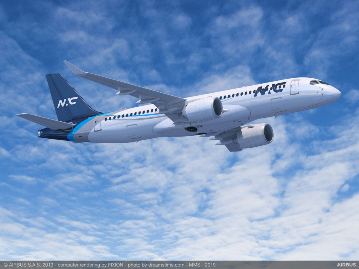 Nordic Aviation Capital orders 20 Airbus A220s