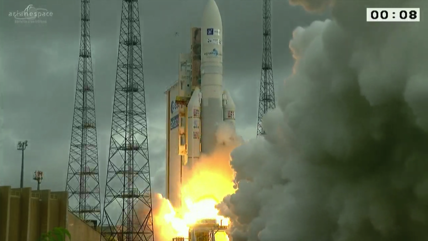 Ariane 5 ends 2016 with seventh launch success