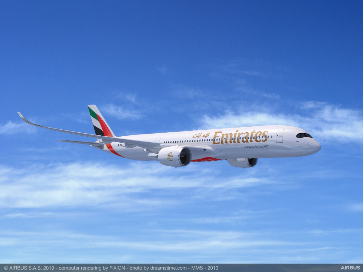 Dubai Airshow 2019: Emirates signs firm order for 50 Airbus A350s