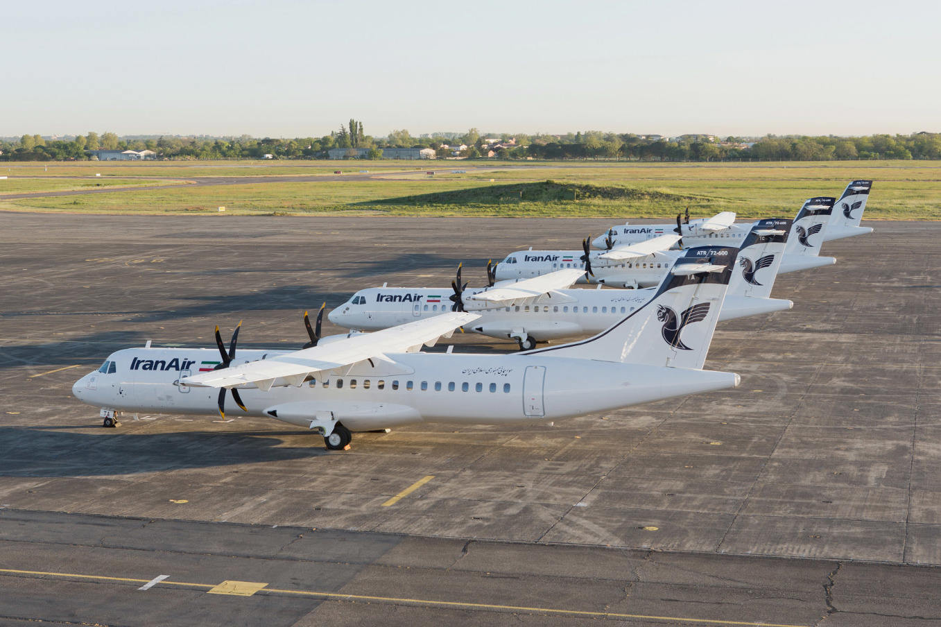 Iran Air receives first four ATR 72-600s