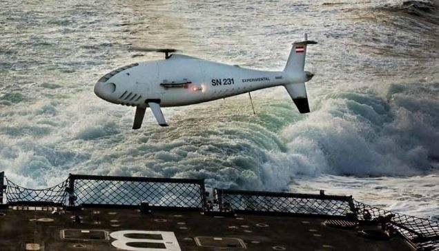Australian Navy orders Schiebel Camcopter UAS