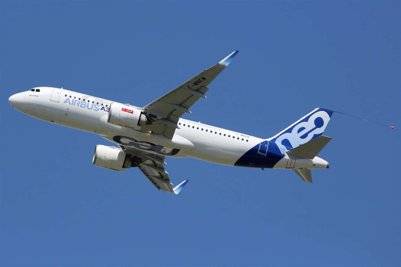 FL Technics provides line maintenance services to Airbus A320neo family aircraft