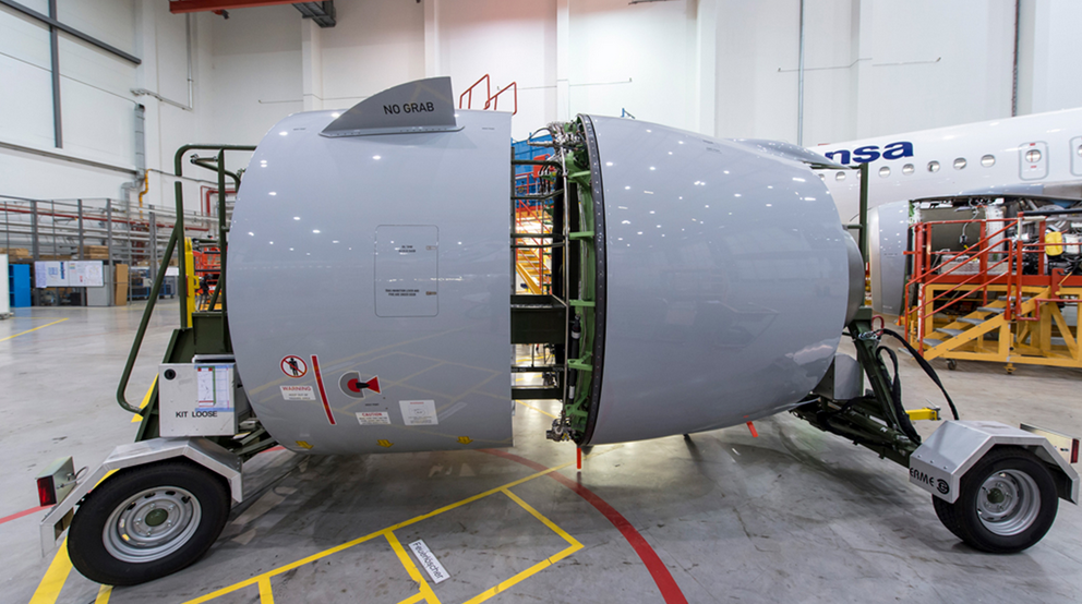 Collins Aerospace and Lufthansa Technik sign A320neo nacelle MRO license agreement