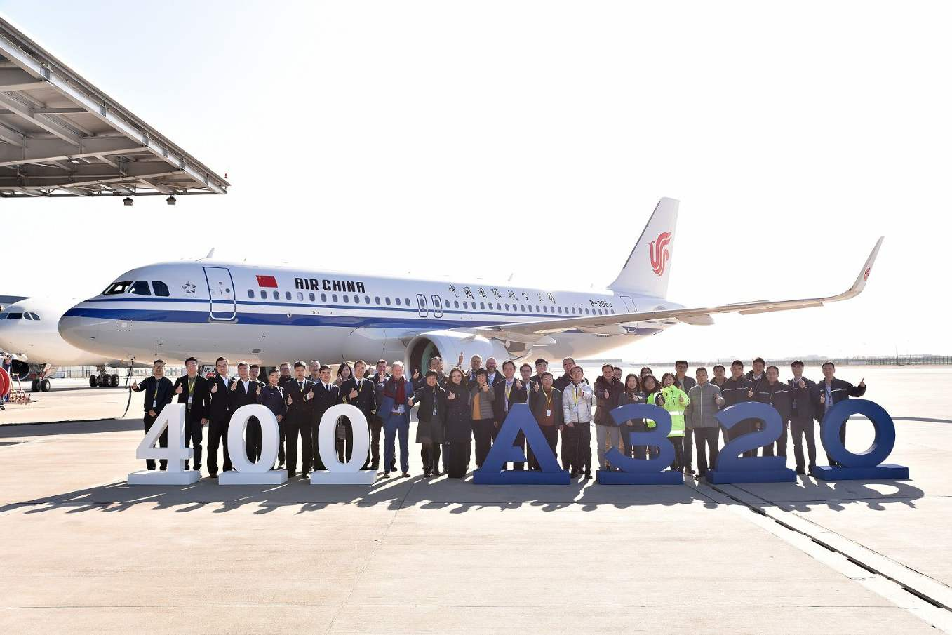Airbus delivers 400th A320 from Tianjin