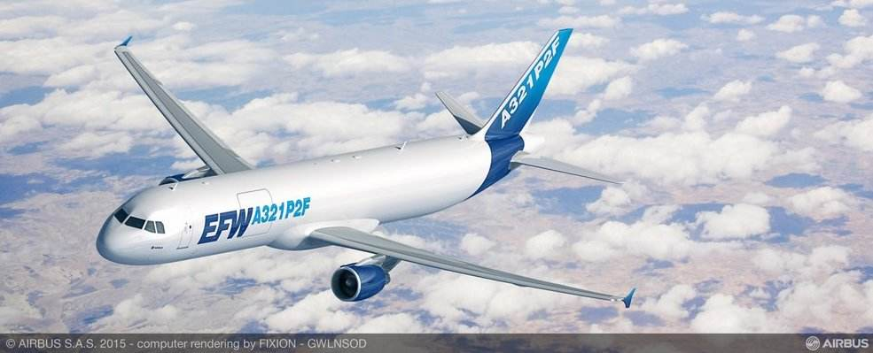 Airbus A321 cargo: Vallair places the first at Qantas