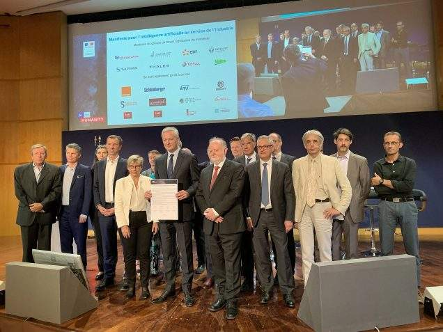 The French industry united for the development of Artificial Intelligence