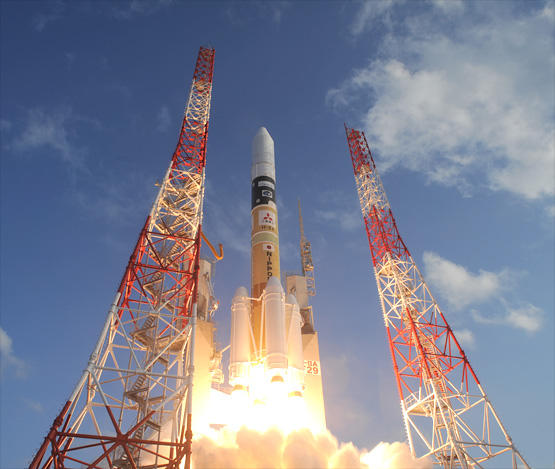Japan's H2A launches with military payload