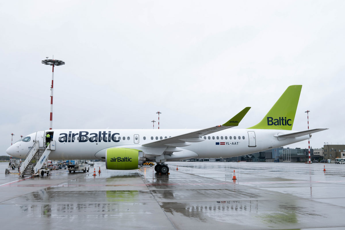 Airbus A220: twenty for airBaltic