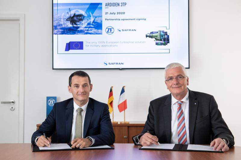 Safran Helicopter Engines and ZF Aviation Technology strengthen partnership within the European engine market