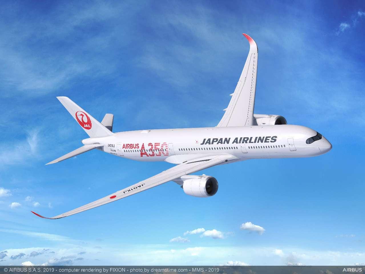 JAL confirms Airbus A350-900 plans