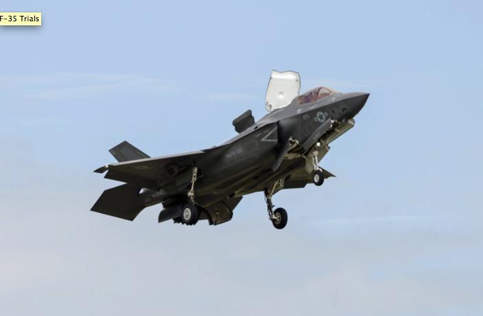 European F-35 pilots begin interoperability trials