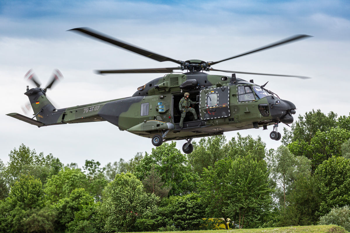 Airbus and EFW will carry out maintenance for the Bundeswehr's NH90s