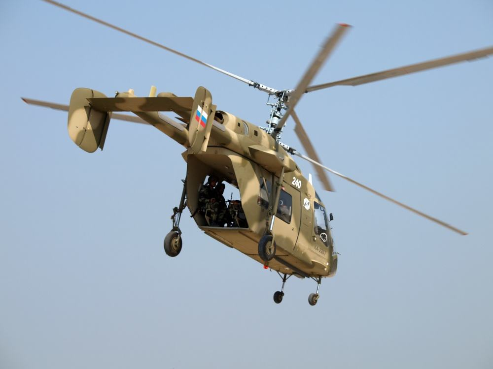 Go-ahead for Russian-Indian helicopter JV