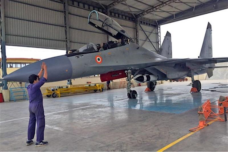 First flight of Brahmos missile on Indian AF Su-30MKI