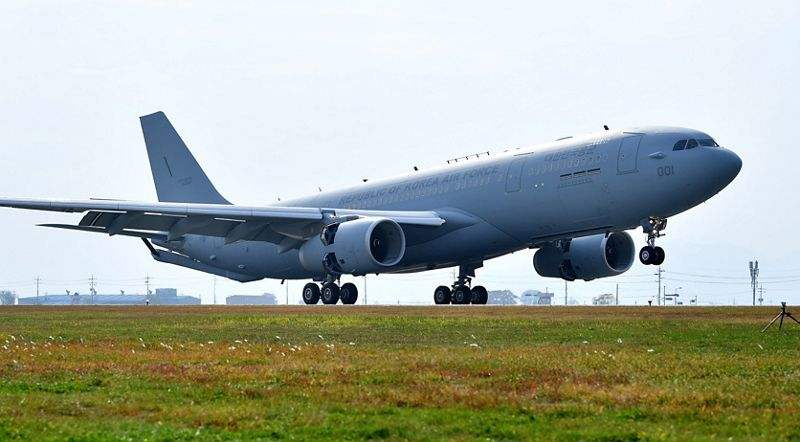 Republic of Korea Air Force receives first Airbus A330 MRTT