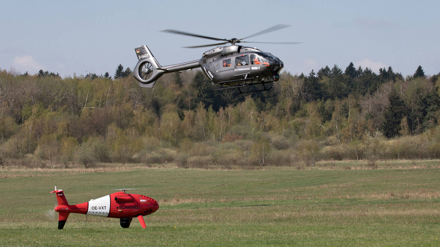 Airbus, Schiebel explore manned-unmanned teaming