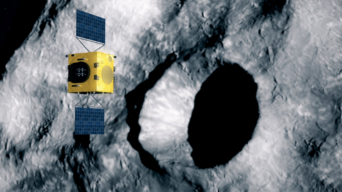The European Space Agency embarks on a planetary defence mission