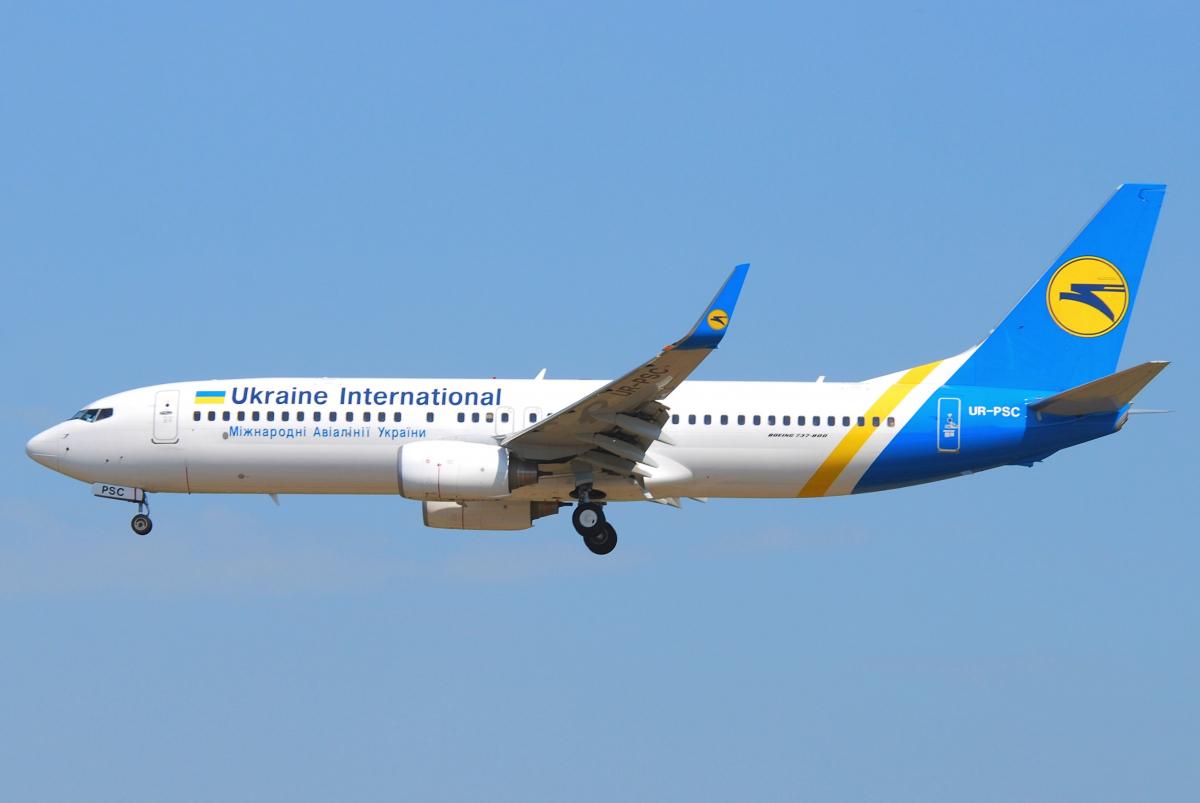 Crash: Ukraine International loses a Boeing 737-800