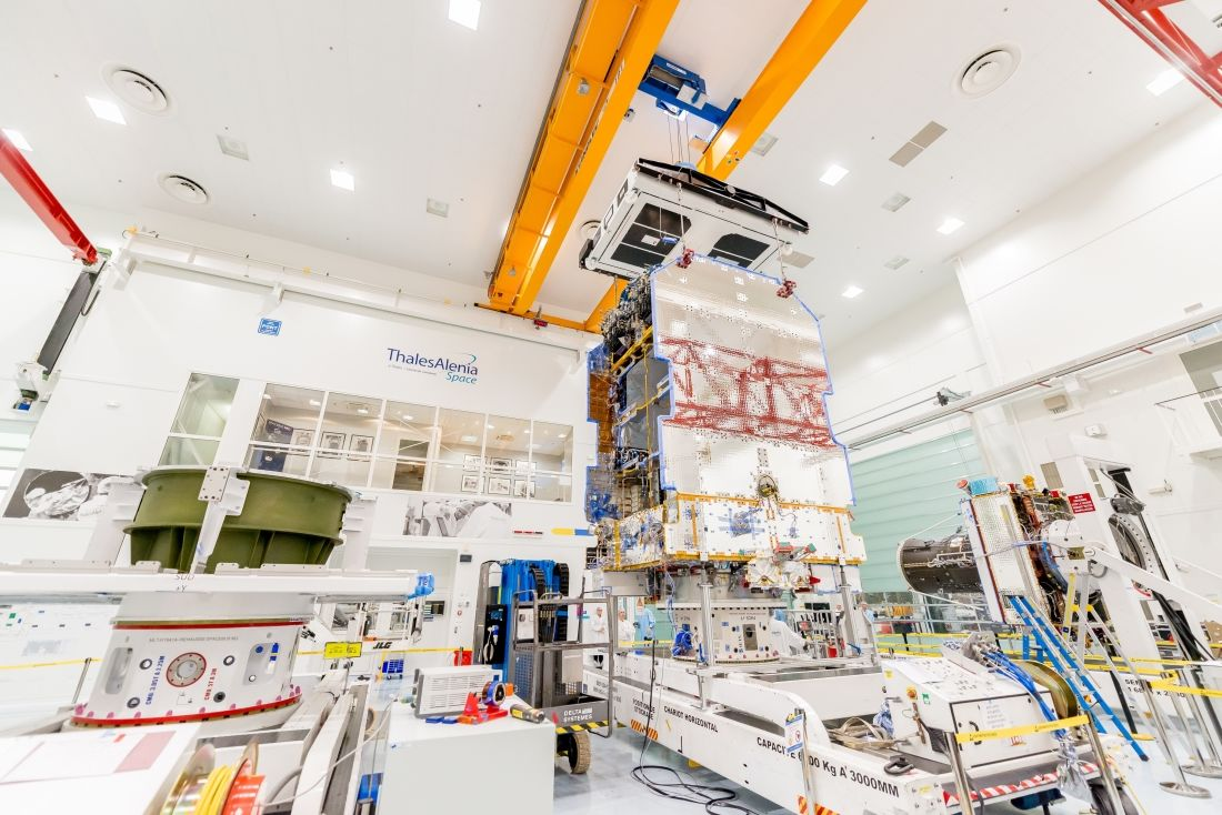 First Spacebus Neo platform from Thales Alenia Space takes shape