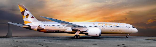 Etihad launches Boeing 787 service to Riyadh