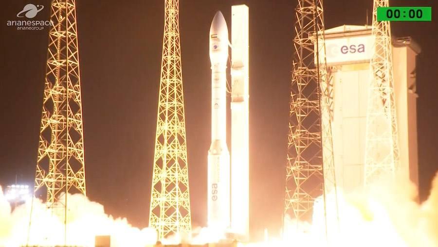 First fail in flight of the European launcher Vega