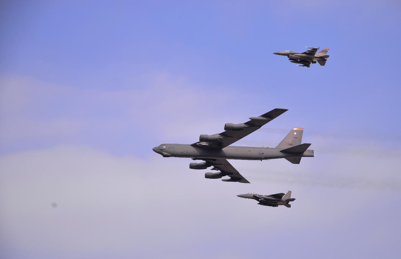 U.S., South Korea launch Vigilant Ace