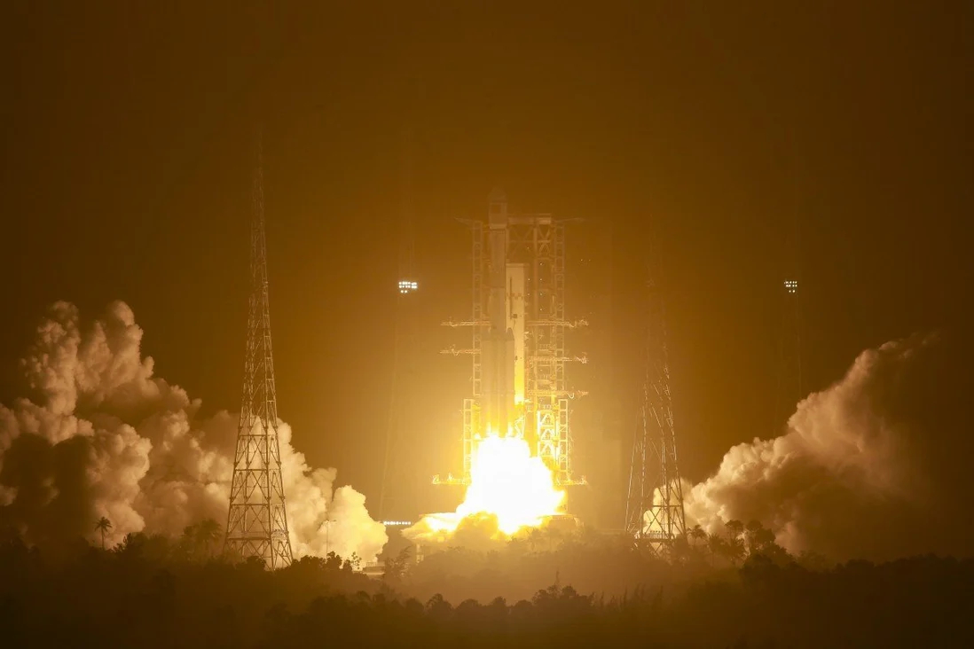 Return to flight of the Chinese Long March 7A launcher